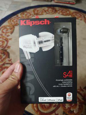 Klipsch S4i ear buds NIB for Sale in Las Vegas, NV