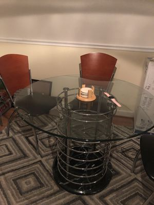 Glass & Marble Dinette/Dinner table for Sale in Frederick, MD