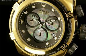 Brand New With Box&Tags Invicta 52MM Bolt ZEUS Swiss Quartz Black MOP Black & Gold Bracelet Watch for Sale in Brooklyn, NY