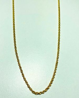 Men's Gold Rope Chain for Sale in Camden, NJ