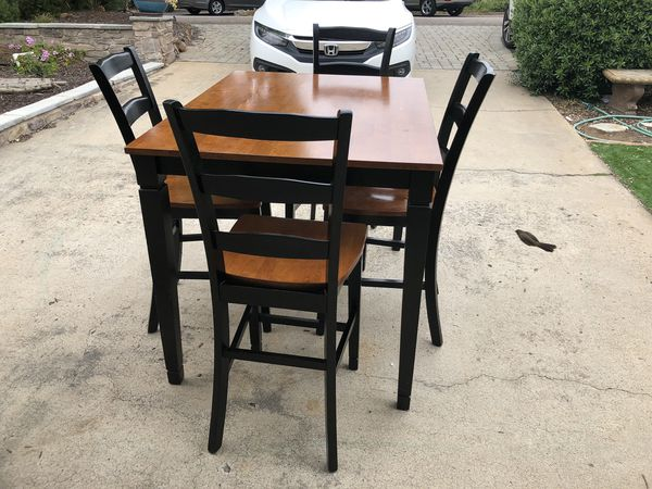 French Farmhouse Wood Kitchen Table-Ready to use!