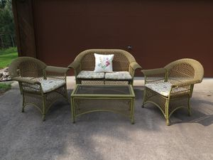 4 Piece Outdoor Furniture Set for Sale in Grayling, MI