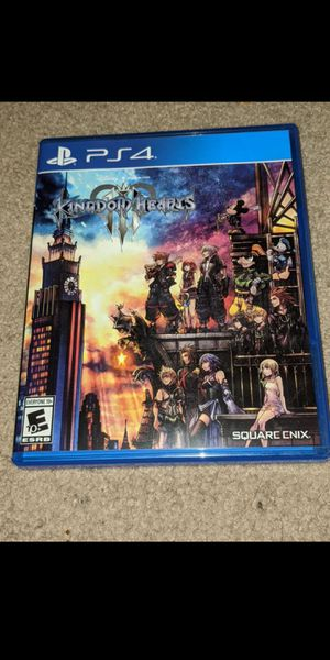 PS4 KH3 (Kingdom Hearts 3) for Sale in Las Vegas, NV