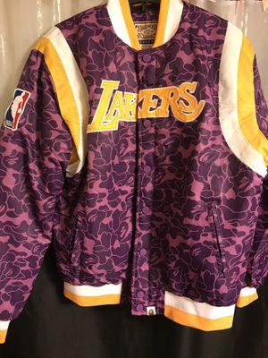 Lakers bape jacket for Sale in San Antonio, TX
