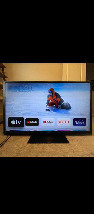 Sharp Aquos 60 inch TV with Amazon fire TV stick for Sale in Hillsboro, OR