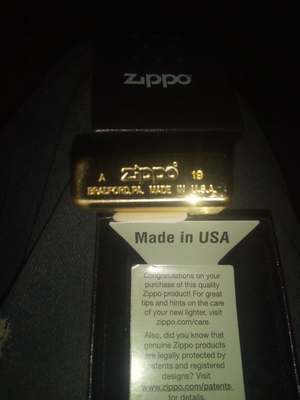 Brand new breast Zippo lighter from Marlboro rewards