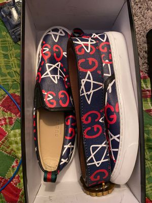 Women's Gucci Shoes and Belt Set for Sale in Jacksonville, FL