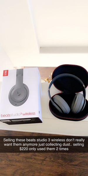Beats wireless studio 3 for Sale in Chula Vista, CA