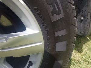 Rims and tire for trade for Sale in Savannah, GA