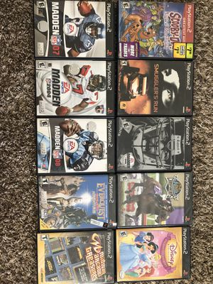 PlayStation 2 video games for Sale in Claremont, CA