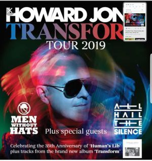 Sun 7/21 Tickets Howard JONES PLUS Men Without HATS PLUS RAYS tix (6) for Sale in St. Petersburg, FL