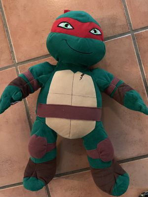 Build a bear ninja turtle for Sale in Miami, FL
