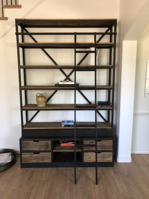 Amazing RH book shelf for Sale in Plano, TX