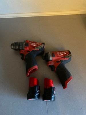 Milwaukee Cordless Drill Set for Sale in Plainfield, IL