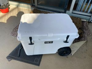 Yeti Tundra Haul Cooler with wheels very Durable for Sale in Dearborn Heights, MI