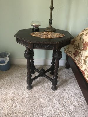 Antique wood table for Sale in Denver, CO