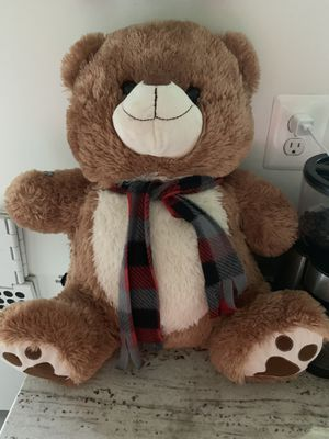 Big stuffed plush teddy bear for Sale in Lincolnia, VA