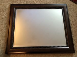 Wood Framed Wall Mirror for Sale in Mukilteo, WA