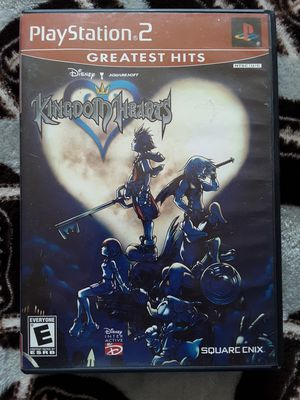 Ps2 kingdom hearts final fantasy Disney Mickey mouse square rpg for Sale in Modesto, CA