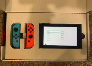 Nintendo switch bundle with full accessories and games for Sale in Tyler, TX