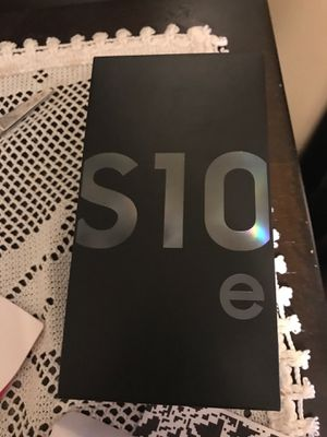 Samsung galaxy s10e prism black 128gb for Sale for sale  New York, NY