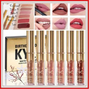 Kylie Jenner mini mattes birthday edition lipsticks 24k gold plated for Sale in Silver Spring, MD