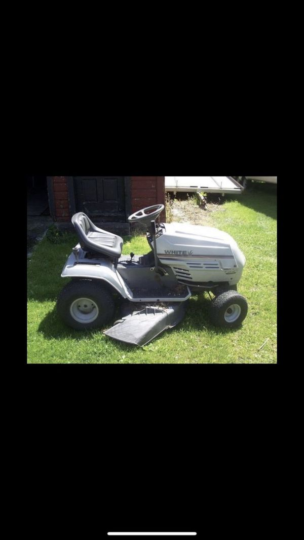 White 42 Inch Lt 14 Riding Lawn Mower For Sale In Durham