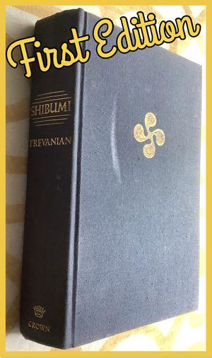 Shibumi Trevanian first edition for Sale in San Antonio, TX