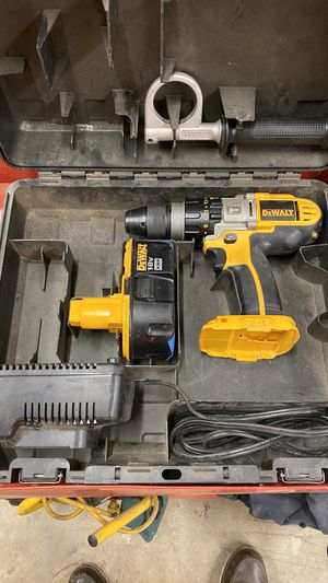 DeWalt 18v impact drill/driver and 1/2 impact wrench for Sale in Corona, CA