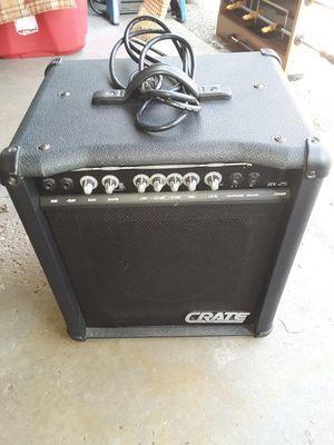 Crate BX-25 Amplifier for Sale in Akron, OH