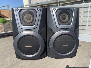 Panasonic Stereo System Speakers Bookshelf SB-AK25 100W Set Of 2 Great Sound for Sale in Alameda, CA