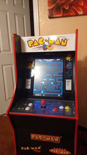 Arcade 1 up 40th Anniversary Pac Man / Galaga 45 inches by 18 for Sale in Mesa, AZ