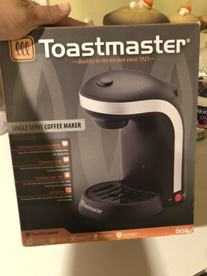 Toastmaster single serve maker etc. for Sale in Castro Valley, CA