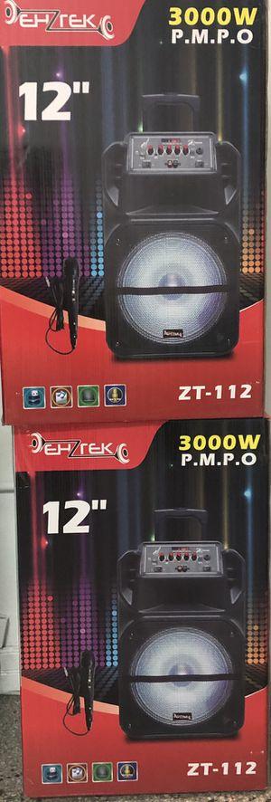 Zenith speakers karaoke 3000W for Sale in Gulfport, FL