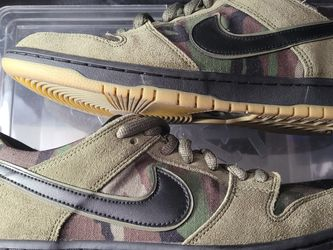 Nike Sb Dunk Low Pro Zoom Camo Size 11 Replacement Box for Sale in Los Angeles,  CA