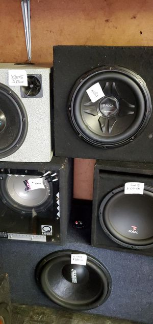 Car audio for Sale in Timberlake, OH