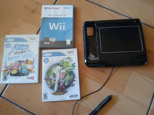 Nintendo Wii udraw tablet and game bundle new for Sale in San Diego, CA