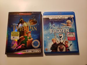 Disney Frozen & Peter Pan Movie for Sale in Sorrento, LA