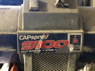 Cap spray 9100 4 Stage Turbine With Hose No Gun for Sale in Willoughby Hills,  OH