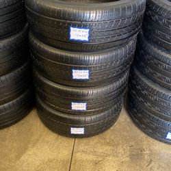 4 Used Tires 205/55/R16 Toyo . Free Mount And High Speed Balance Included for Sale in Bellflower,  CA