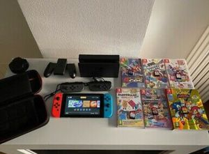 Nintendo Switch V2 64GiG Bundle with Games and Accessories. Call or text my num832 856 8927ber for quick replies. for Sale in Houston, TX