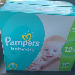 Pampers Size 1 for Sale in Dinuba,  CA