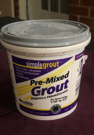Pre-Mixed Grout (1 quart) for Sale in Washington, DC