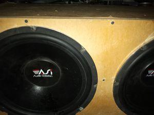 15 inch audio solution Dual voice coil almost new. for Sale in Stockton, CA