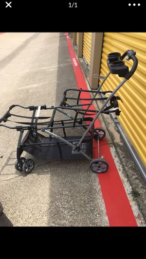 Double Carrier Click N Go Stroller for Sale in Mansfield, TX