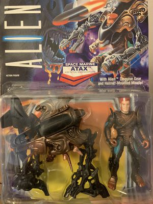 Vintage Kenner Aliens - Space Marine Atax action figure for Sale in Boca Raton, FL
