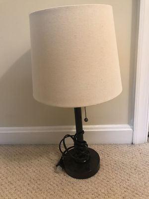Beige and Black Lamp for Sale in Falls Church, VA