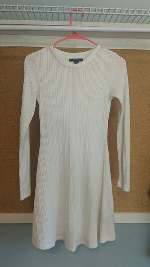 White Sweater Dress, Size Small for Sale in Los Angeles, CA
