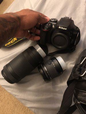 Nikon d3400 full kit for Sale in Glenarden, MD