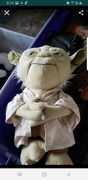 Yoda stuffed animal star wars for Sale in Orlando, FL